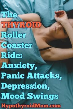 The thyroid roller coaster ride full of anxiety, panic attacks, depression, and mood swings. Thyroid Issues, Thyroid Disease, Thyroid Problems, Thyroid Health, Heart Disease, Women's Health, Thyroid Diet, Thyroid Cancer Symptoms, Thyroid Nodules
