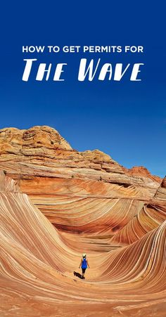 How to Get the Wave Permit in Coyote Buttes North Arizona How to Get Permits for The Wave - Coyote B Arizona Road Trip, Arizona Travel, Road Trip Usa, Sedona Arizona, Visit Arizona, Usa Roadtrip, The Wave Coyote Buttes, Coyote Buttes North, Cool Places To Visit