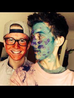 Troye and Tyler. #troyler