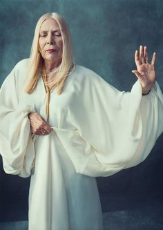 Joni Mitchell, Unyielding   Print    Singer, Muse, Implacable Biographer by Carl Swanson  New York Magazine  February 9, 2015