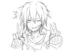 This is Uzumi's dream Yuu Cute Anime Guys, Awesome Anime, Anime Boys, Manga Boy, Manga Anime, Anime Art, Anime Zombie, Anime Depression, Yandere Boy
