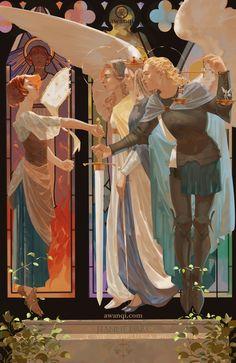 ArtStation - St. Joan of Arc, awanqi .