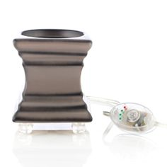 Footed Square Scent Pod® Warmer - Gray https://acmecandle.mygc.com