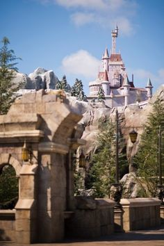 The Beast's castle in the new Fantasyland. Cant wait to work at disneyworld only 42 days away =]