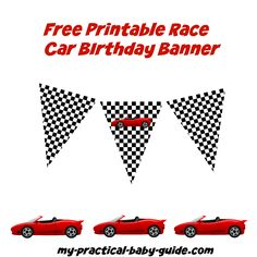 Use This Free Printable Car Birthday Food Labels On Your Kids Car
