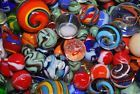 541 Marbles vintage Hand made Boulders  Mineral Agate style