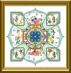 OCF – Mystery XV – Deep Blue Sea Mandala – 2012 | Chatelaine