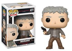 Prepare for Set 30 years after the original Blade Runner movie, Rick Deckard is back in action along side a new host of characters. This Blade Runner 2049 Deckard Pop! Vinyl Figure measures approximately 3 tall and comes packaged in a window display box. Rick Deckard, Harrison Ford, Pop Vinyl Figures, Ryan Gosling, Kaneki, Aquaman, Paw Patrol, Tokyo Ghoul, Deckard Blade Runner