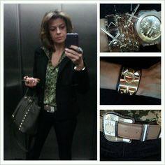 Look do dia @carolmaimone bolsa e acessórios by Click2fashion!!!! #amo
