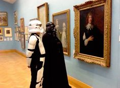 Star Wars mania arrives to the Uffizi Gallery