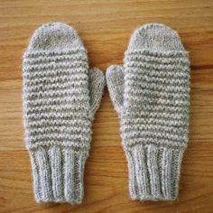 cozy purl ridge mittens by wikstenmade, via Flickr