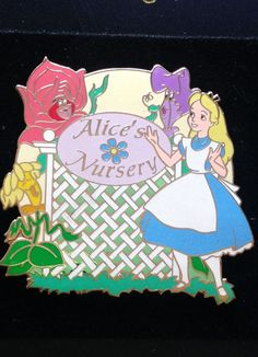 Disney Auctions (P.I.N.S.) - Alice's Nursery Alice in Wonderland Pin LE 500