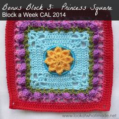 Bonus Block 3:  Princess Square  {Photo Tutorial}