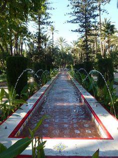 Parque Municipal. Fuente #Elche