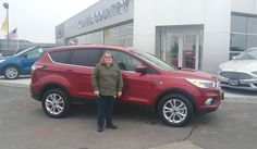 Julie, we're so excited for all the places you'll go in your 2017 FORD ESCAPE!  Safe travels and best wishes on behalf of Kunes Country Ford Lincoln of Delavan and DEANNA KLOSTERMAN.