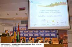 """MIRA TELECOM a prezentat importanța proiectului SafeCity la conferința """"Smart City – Future City – Connected City"""""""