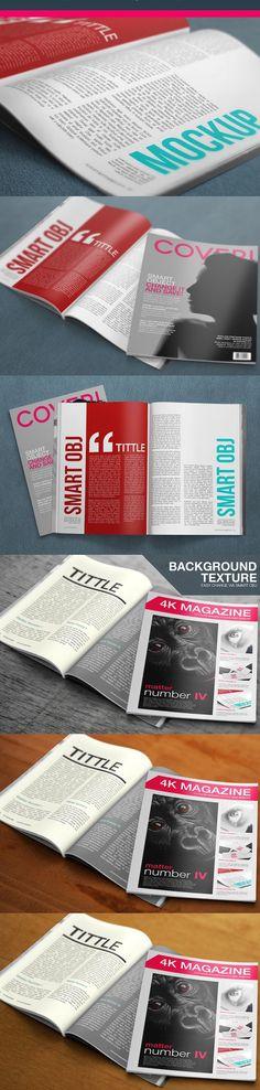 15 Latest Free Magazine PSD Mockup Templates