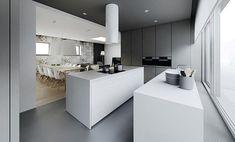 Sleek Minimal Apartment by Tamizo