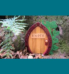 Scroll Saw Patterns :: Mythical :: Fairies :: Fairy door #3 -