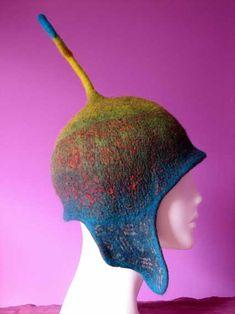 Pam de Groot - felted hat