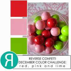 RC December Color Challenge! - Fun colors for Valentines.