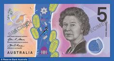 The Reserve Bank of Australia has announced a new five dollar note, to great general derision. The Australian Mint has a proud history of excellent design, so why is this new note so wrong? Dollar, Notes Design, 5 News, Paladin, New Series, Hologram, Being Ugly, Feelings, World