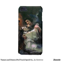 Tamara and Demon iPod Touch Speck Case