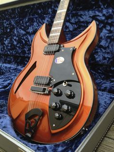 Rickenbacker 381 12V69 12-string in Copperglo