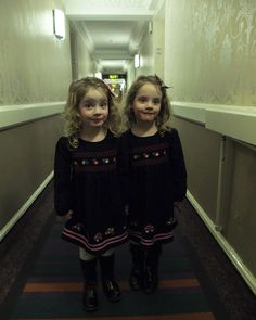 This English dad has people cracked up - and creeped out - by his twin girls, Poppy and Isabella. They may be adorable, but when he dresses them up and gets them to recreate a famous scene from The Shining, they're downright spooky.