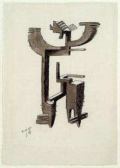 julio gonzalez sculpture | Julio González - Etude pour homme cactus - Spain Art - Artwork ...