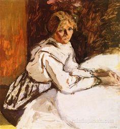 Annette Daydreaming - Edouard Vuillard Nov 11, 1868 - Jun 21, 1940