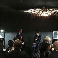 High above Melbourne, Andrew speaks to @montblanc CEO Jerome Lambert about passion, drive and fine watchmaking. Mr Lambert pinpoints the pulsograph and Heritage Chronometrie collection as key points in Montblanc's watchmaking ️ #timeandtidexmontbla