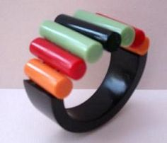 This Bakelite bracelet would be a nice find, wouldn't it?