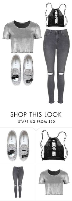 """""""Outfit Idea by Polyvore Remix"""" by polyvore-remix ❤ liked on Polyvore featuring Chiara Ferragni and Topshop"""