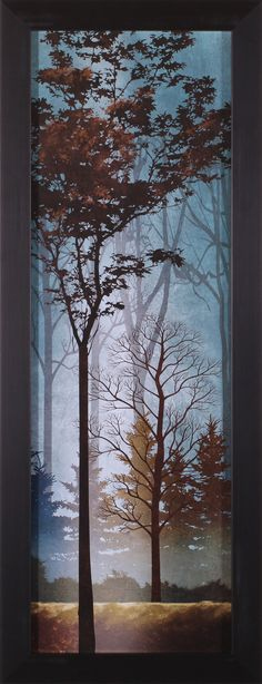 Fading to Dusk I by Conrad Knutsen Framed Painting Print