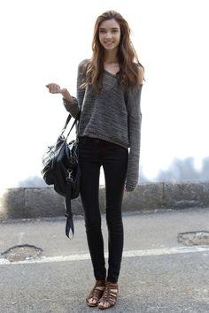 bon look, street style, american and european style