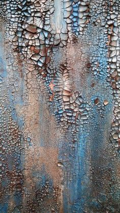 Original Rustic Texture Abstract Painting 24 x Modern Turquoise and Bronze Canvas Wall Art is part of Silvery Blue An Original Textured Abstract Painting By Amy - AmyNealArtStudio Thanks for checking out my art! Crackle Painting, Texture Painting, Neal Art, Art Sur Toile, Peeling Paint, Contemporary Abstract Art, Painting Techniques, Canvas Wall Art, Artwork