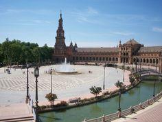 Plaza Espana, Sevilla