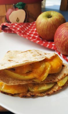 Apple Cheddar Quesadillas | Recipe | Quesadillas, Cheddar and Quick ...