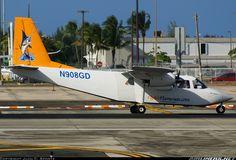 Britten-Norman BN-2A-26 Islander aircraft picture.  Wearing it's new livery  Air Flamenco Britten-Norman BN-2A-26 Islander  San Juan - Luis Munoz Marin International (Isla Verde) (SJU / TJSJ) Puerto Rico, January 5, 2014
