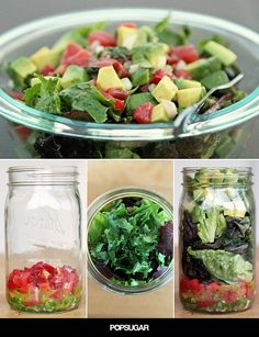 Sate Chips and Guac Cravings With This Mason Jar Salad