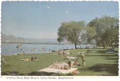 Chelan State Park Beach, Lake Chelan, Washington