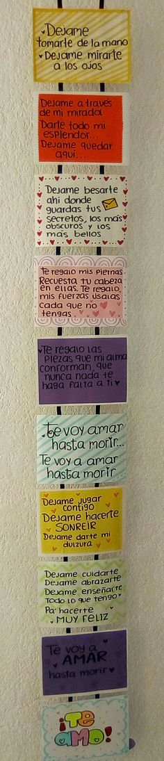 Detalles Gifts For My Boyfriend, Boyfriend Goals, Love Gifts, Diy Gifts, Tumblr Love, Ideas Para, Relationship Gifts, Love Messages, Valentines Diy
