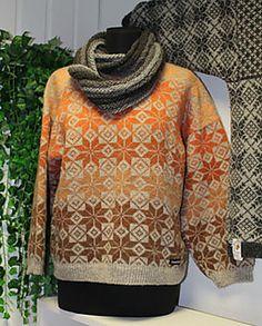 Fine farger og muligheter med Kauni graftavallen troja pattern by sonja lowenberg