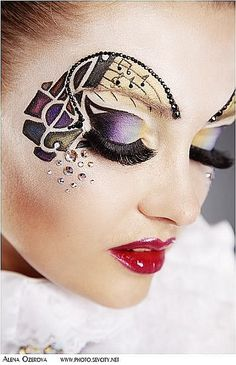 Valary Romanova... simply stunning.