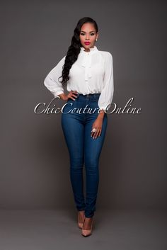 Chic Couture Online - Althea Off-White Accordion Long Sleeves Bodysuit, $40.00 (http://www.chiccoutureonline.com/althea-off-white-accordion-long-sleeves-bodysuit/)