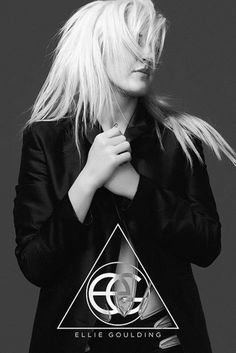 Ellie Goulding - Halcyon - Official Poster. Official Merchandise. Size: 61cm x 91.5cm. FREE SHIPPING