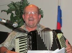Frank Rote was born in a small Slovenian community located in upstate New York. He currently lives in Alta Loma, CA and plays both button and piano accordion. He is in charge of many of the activities at the Slovene Hall in Fontana and is the leader of the Fontana Button Box Accordion Club, a local button accordion band. He also has his own Polka band, The Frank Rote Orchestra.