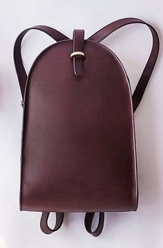 Vintage Style Brown Leather Backpack at forLincoln.com forlincoln.com/collections/bags