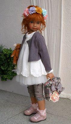 Новые коллекционные куклы от Angela Sutter. Часть вторая / Коллекционные куклы Angela Sutter / Бэйбики. Куклы фото. Одежда для кукол